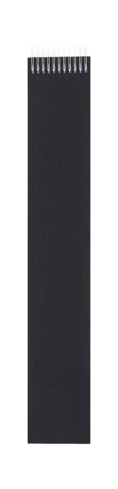 Блокнот Nettuno Mini в линейку, черный фото