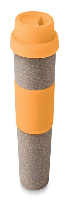Стакан BAMBOOASTORIA, оранжевый фото
