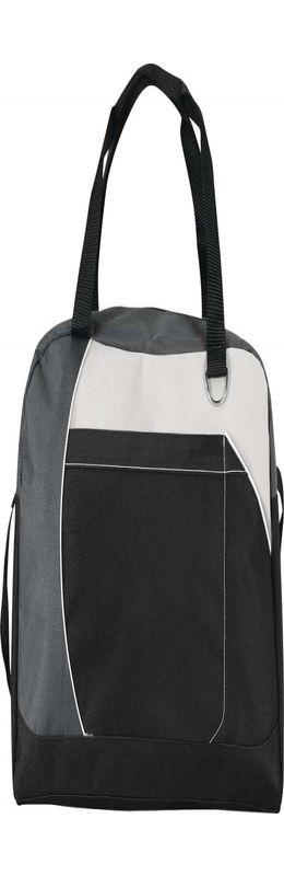 Спортивная сумка Atchison Curve, черная фото