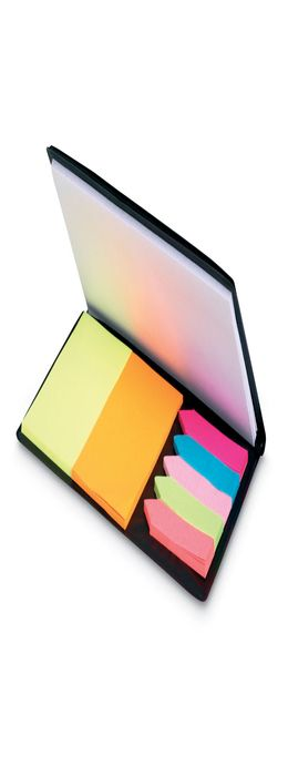 Стикеры цветные и блокнот фото