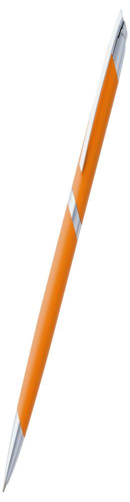 Ручка шариковая Razzo Chrome, оранжевая фото