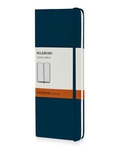 Moleskine Classic Записная книжка в линейку, Pocket 9x14см, голубой сапфир фото