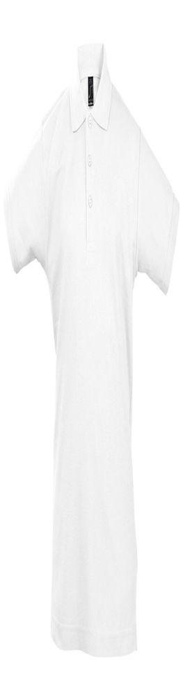 Рубашка поло детская Summer II Kids 170, белая фото