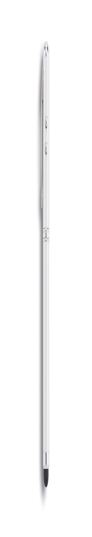 Ручка-стилус с фонариком и лазерной указкой 4 в 1, серебряный фото