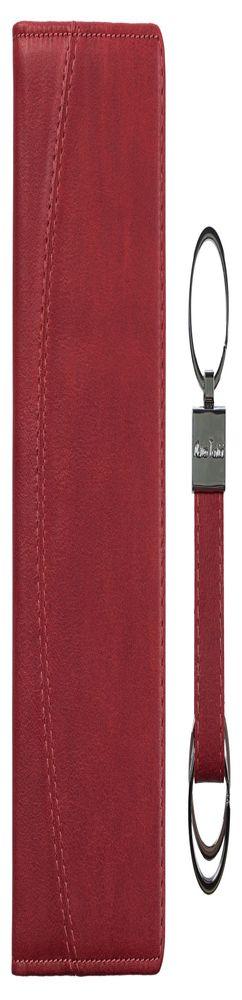 Набор il Marsala: блокнот и брелок, бордовый фото