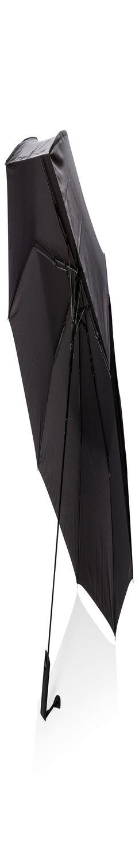 """Автоматический складной зонт Deluxe 21"""", черный фото"""
