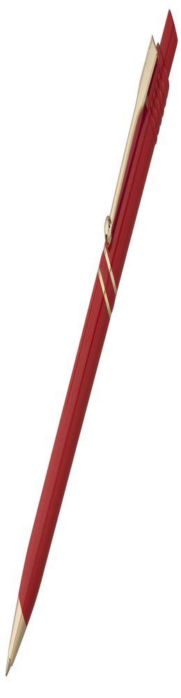 Ручка шариковая Raja Gold, красная фото
