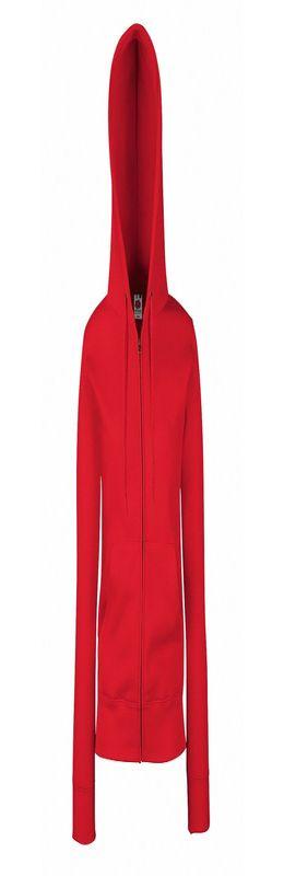 "Толстовка ""Lady-Fit Hooded Sweat Jacket"", красный фото"