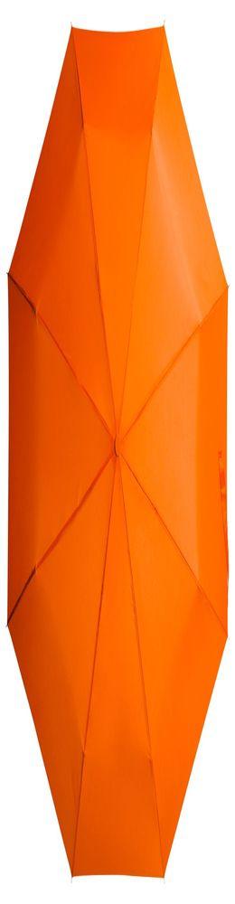 Складной зонт Unit Basic, оранжевый фото