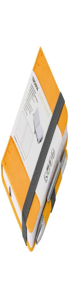 Блокнот Lilipad с ручкой Liliput, желтый фото