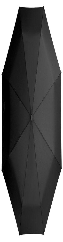 Зонт складной Unit Light, черный фото