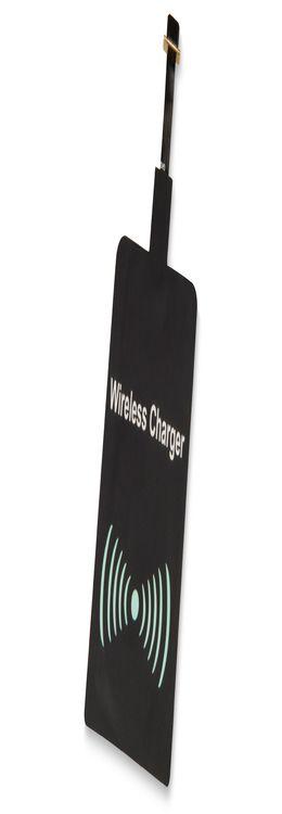 Приёмник Qi для беспроводной зарядки телефона, Micro USB фото