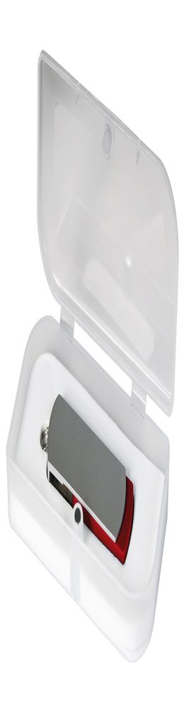 USB Флешка Portobello, Elegante, 16 Gb, Toshiba chip, Twist, 57x18x10 мм, красный, в подарочной упаковке фото