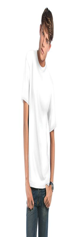 Мужская футболка Exact 190, белый/white фото