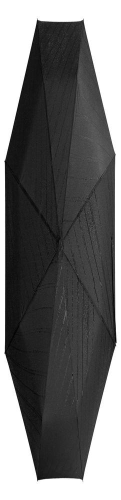 Складной зонт Magic с проявляющимся рисунком, черный фото