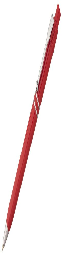 Ручка шариковая Raja Chrome, красная фото