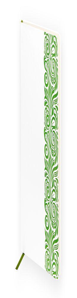 Ежедневник недатированный Portobello Trend, Russia, белый/зеленый фото