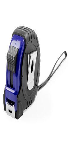 Рулетка пластиковая, 5 м., с металлическим клипом фото