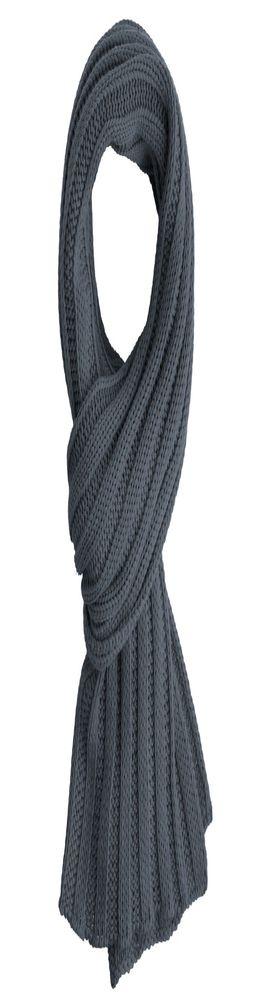 Шарф Chain, темно-серый фото