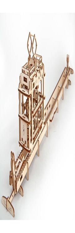 3D-ПАЗЛ UGEARS «Трамвай» фото