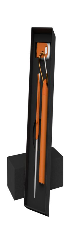 "Набор ручка ""Skil"" + флеш-карта ""Vostok"" 8Гб + зарядное устройство ""Minty"", емкость 2800 mAh, в футл фото"