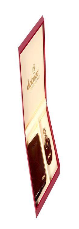 Набор: обложка для паспорта, брелок фото
