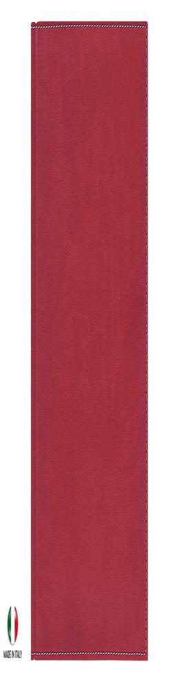 Недатированный ежедневник PORTLAND, золоченый срез, красный фото