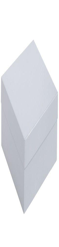 Коробка Satin, большая, серебристая фото