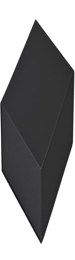 Коробка подарочная складная,  черный, 22 x 20 x 11cm,  кашированный картон,  тиснение, шелкогр. фото