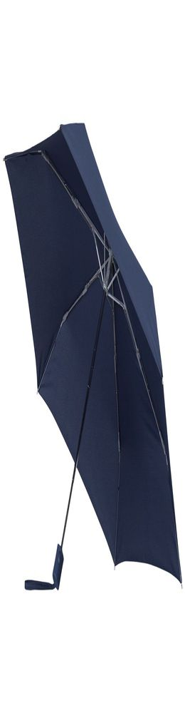 Зонт складной R-Plu, автомат, синий фото