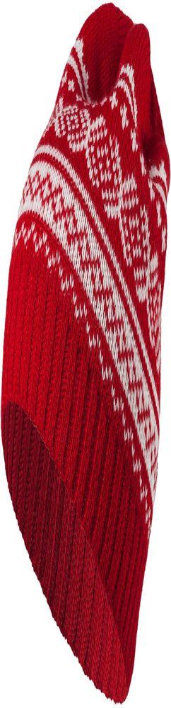 Шапка Lambient, красная с белым фото