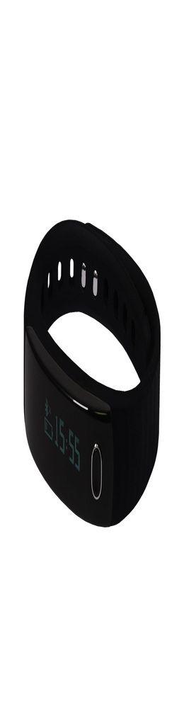 """Смарт браслет (""""умный браслет"""") Portobello Trend, Health, электронный дисплей, браслет-силикон, 195x16x13 мм, черный фото"""