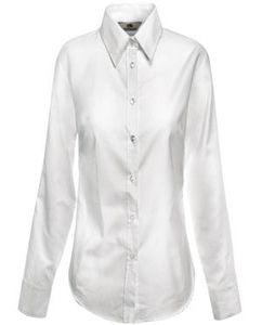 "Рубашка женская  ""Lady-Fit Long Sleeve Oxford Shirt"" фото"