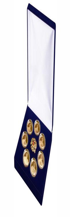 Набор медалей «Великие полководцы России» фото