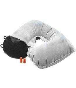 """Набор дорожный """"Комфорт"""": надувная подушка, повязка на глаза, беруши фото"""