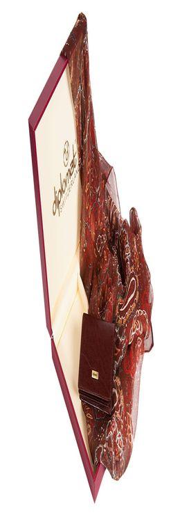 Набор: платок, визитница фото
