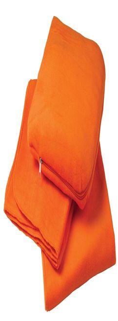 Дорожный плед TRAVEL, оранжевый фото
