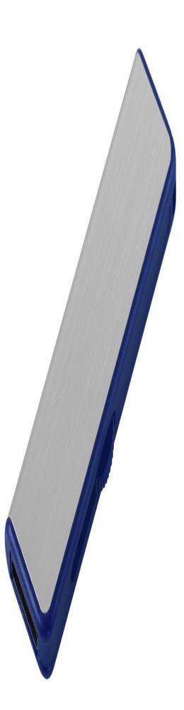 Флешка Ferrum, серебристая с синим, 8 Гб фото