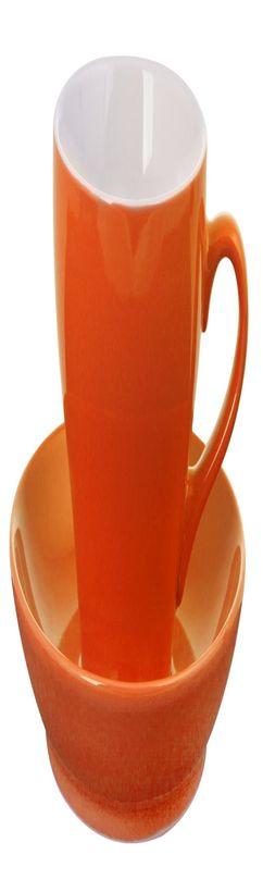 Чайная пара Tulip, оранжевая фото