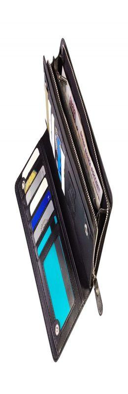 Бумажник Manhattan, черный фото