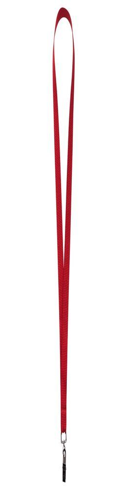 Лента для бейджа Neckband, красный фото