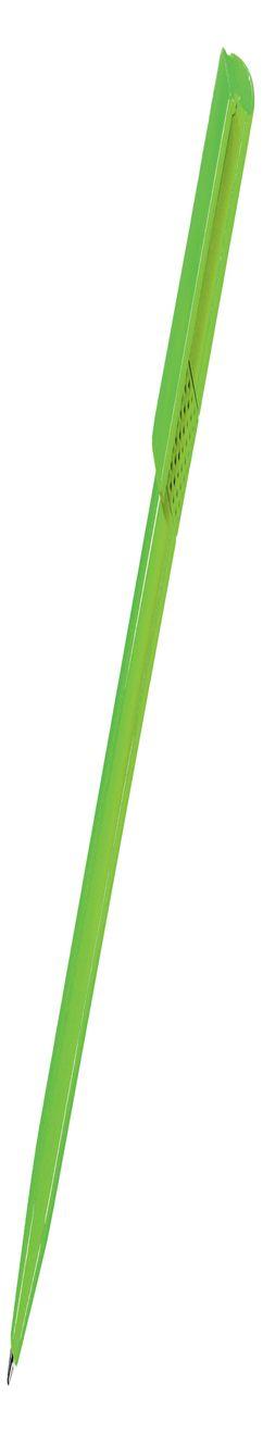 Ручка шариковая TWISTY, зеленое яблоко, пластик фото