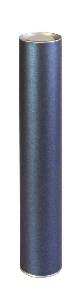 Тубус подарочный «Блеск», синий фото