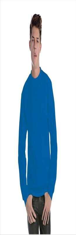 Толстовка ID.002, ярко-синяя/royal blue фото