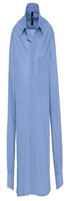"""Рубашка""""Baltimore"""", васильковый, 65% полиэстер, 35% хлопок, 105г/м2 фото"""