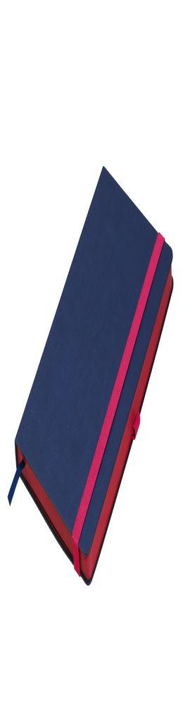 Ежедневник недатированный, Portobello Trend, Aurora А5, синий/красный фото