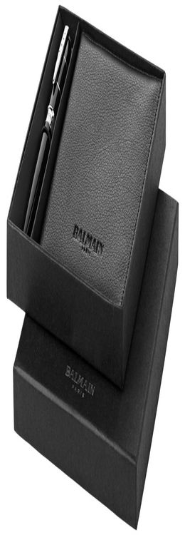 Подарочный набор: ручка шариковая, обложка для паспорта фото
