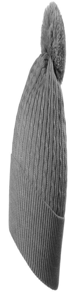 Шапка Comfort Up, светло-серый меланж фото