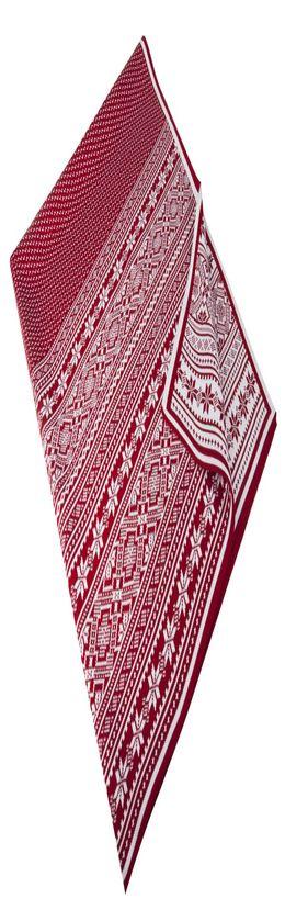 Плед «Скандик», красный фото
