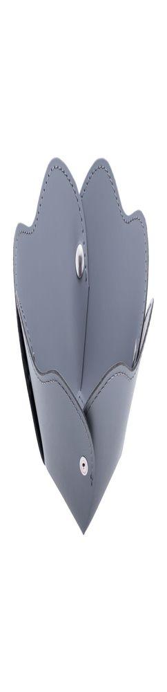 Корзина Corona, малая, серо-голубая фото